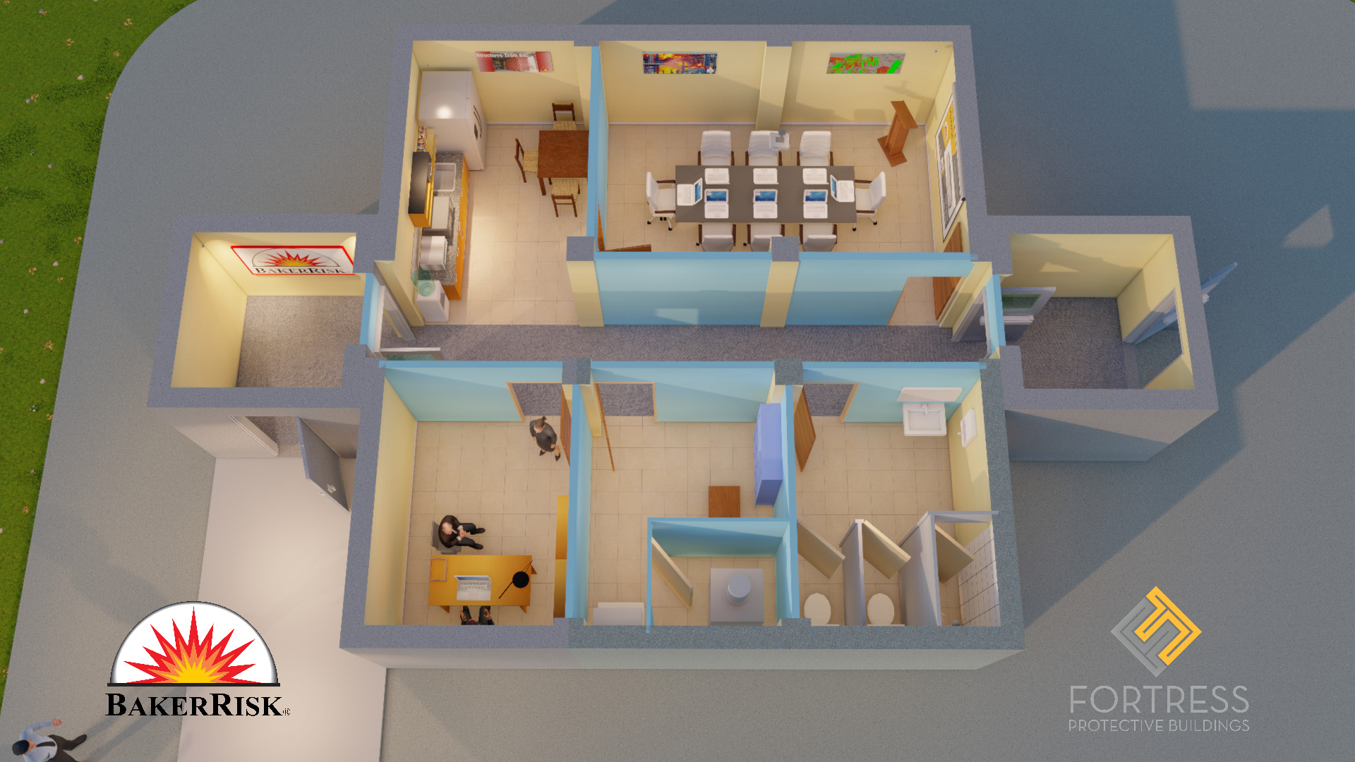 FORTRESS Interior Layout-Conference Wall Partition