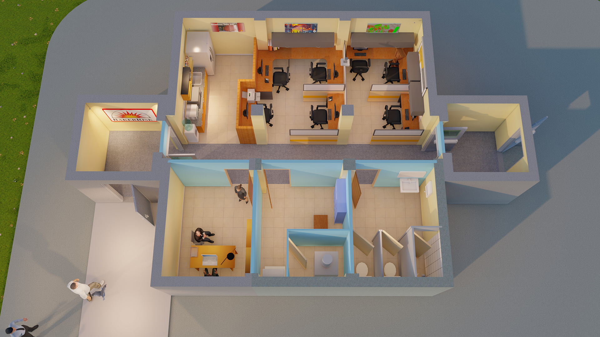 FORTRESS Interior Layout-Option 4 Cubicle