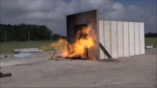 FORTRESS Jet Fire Door and Panel Test Screenshot