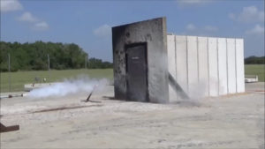 FORTRESS Jet Fire Door and Panel Test