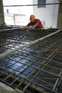 Tie-in of Rebar